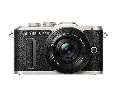 OLYMPUS PEN E-PL8 14-42mm EZ lens kit [black][International Version, No Warranty] by OLYMPUS