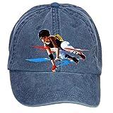 Nusajj Mirror's Edge Catalyst Unstructured 100% Cotton Baseball Caps Design for Man Navy One Size