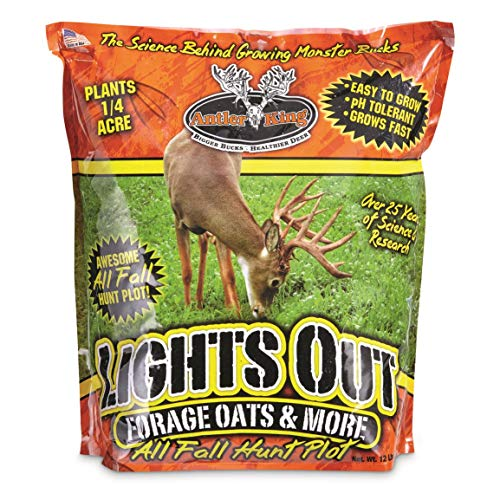 Antler King Deer Food Plot Lights Out Oats (Best Food Plot For Deer In Fall)