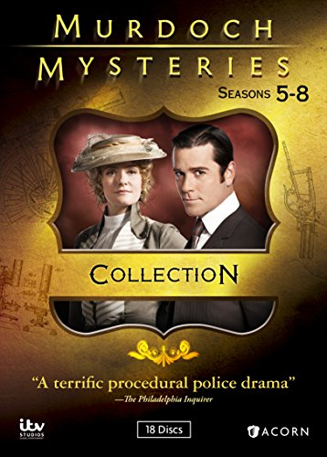 Murdoch Mysteries Collection 5-8 -  DVD, Cal Coons, Yannick Bisson