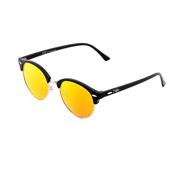 Occhiali da sole TWIG Pollock uomo/donna UV 400 sunglasses (Nero/Verde) Ep2PyQpy