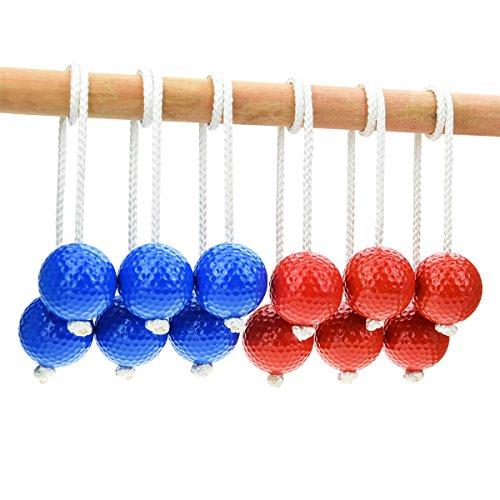 HONESTY Ladder Ball Replacement Balls Ladder Balls Made from Real Golf Balls 6 Pack ()