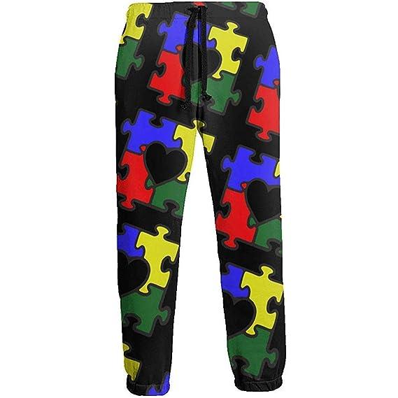 Emild Autism Heart Puzzle Conciencia del Autismo Pantalones de ...