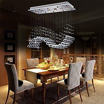 GU10 Modernen Und Einfachen Kristall Kronleuchter Spirale Villa Penthouse  Stehlampe Treppenhalle LED Kristall
