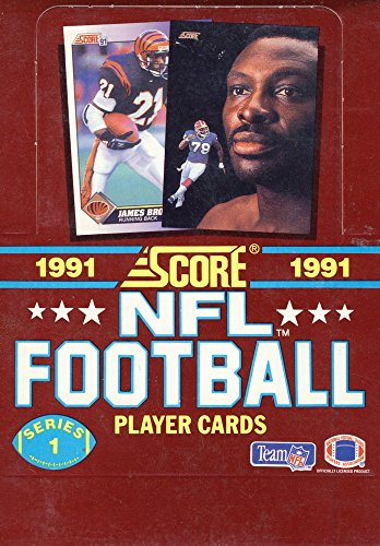 - 1991 Score Football Series 1-36 Pack Wax Box