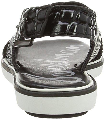 Sam EdelmanSam Edelman Noir - Schwarz (Black/Ivory Baby Zebra Br) RI5EMis0UQ