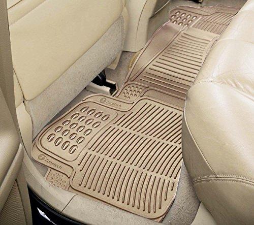 Zone Tech All Weather Rubber Semi Pattern Car Interior