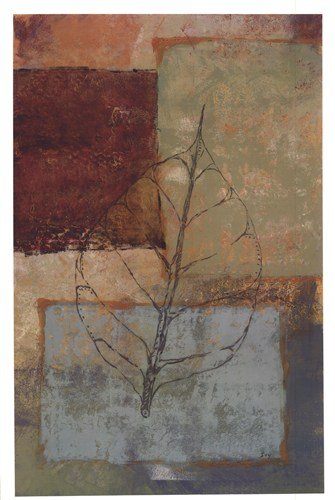 Water Leaf II by Richard Ivy - 24x36 Inches - Art Print (Richard Ivy Water)