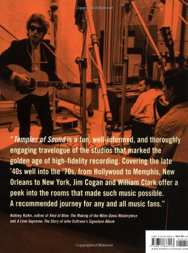 Temples of Sound: Inside the Great Recording Studios by Chronicle Books