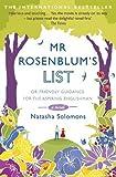 By Natasha Solomons - Mr. Rosenblum's List: Or Friendly Guidance for the Aspiring Englishman (Reprint)