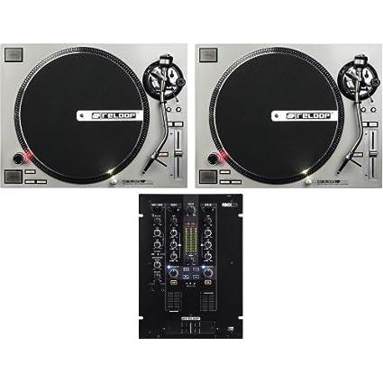 Reloop RP de 7000 Plata + RMX 22I Tocadiscos DJ Set: Amazon ...