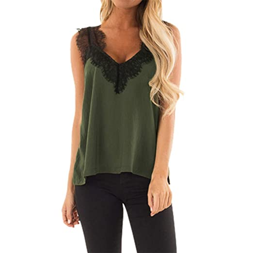 Amazon.com  Plus Size Cami WANQUIY Women s V-Neck Sleeveless Lace Solid Tank  Top Spaghetti Strap Camisole Gold  Clothing