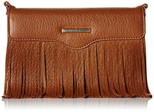 Rebecca Minkoff Universal Fringe Crossbody Iphone 6 Galaxy S6 Phone Wristlet, Almond, One Size by Rebecca Minkoff
