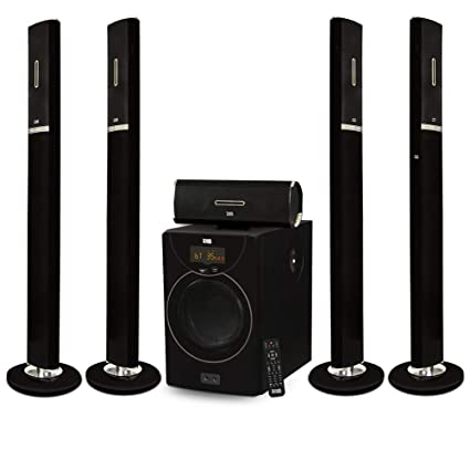 9b2557a2651 Amazon.com  Acoustic Audio AAT2002 Tower 5.1 Home Theater Bluetooth ...