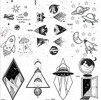 yyyDL tatuajes temporales Gadgets pequeños Universo Galaxy ...