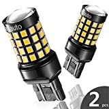 7443 7440 T20 LED Reverse Backup Bulb Extremely Bright, [2018 UPGRADED] Marsauto 52 SMD 3030/2835 Chipsets Back up Stop Tail Light Lamp Bulbs Replacement (Set of 2)