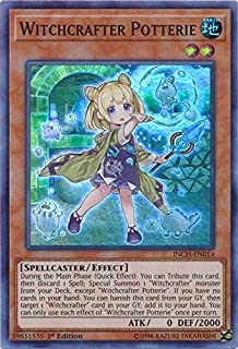 WITCHCRAFTER SCHMIETTA Super RareINCH-EN016 The Infinity Chasers YuGiOh