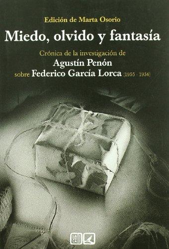 Descargar Libro Miedo, Olvido Y Fantasia ) Marta Osorio