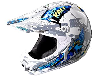 Amazon.es: Kali Protectives PRANA Torn Graphic - Casco
