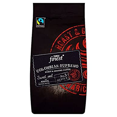 Tesco Finest Colombian Supremo Ground Coffee 227g Amazonco