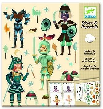 By DjecoAmazon esJuguetes Y Stickersamp; Paper Knights Juegos Dolls 4LAjR35