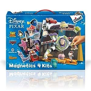 4 Kits Magneticos Disney Pixar
