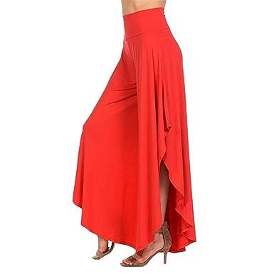 Pantalon Mujer Pantalones Anchos Moda Pantalones Elegantes Verano ...