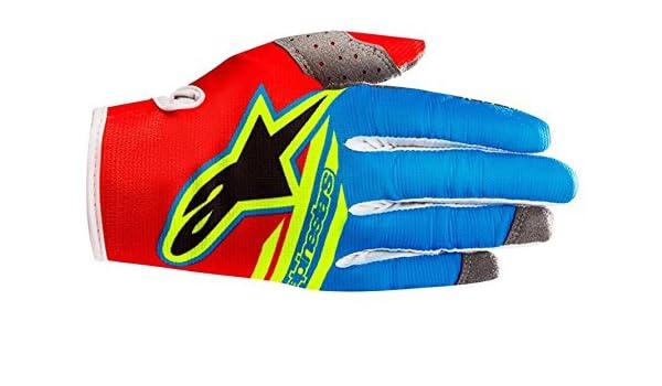Alpinestars Radar Flight MX Gloves Motocross Moto-X Off-Road Black Flo Yellow