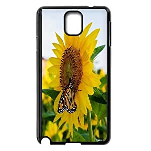 CHENGUOHONG Phone CaseSunflower And Sun For Samsung Galaxy NOTE4 Case Cover -PATTERN-15