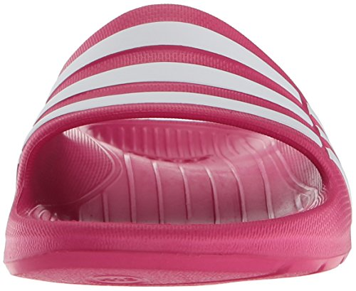 adidas Duramo Slide K, Chanclas natación Niños Rosa (Pink Buzz/Running White/Pink Buzz)