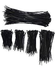 eyepower 500 scheurvaste Kabelbinders Tiewraps - ca.100/120/150/200/300mm Nylon UV-bestendig Zwart
