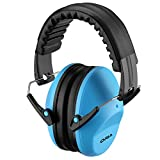 ORIA Kids Safety Ear Muffs, Noise Reduction Ear Muffs, Fold-able Ear Defenders Hearing Protection for Hunting, Shooting, Working, Noisy Environment, Fits for Kids, Children, Babies
