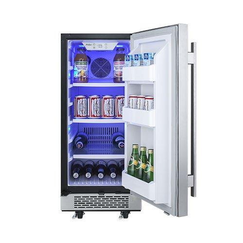Avallon 3 3 Cu Ft 15 Quot Outdoor Built In Refrigerator