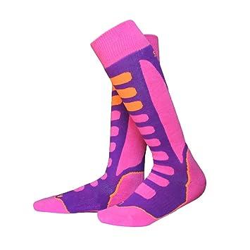 VORCOOL Calcetines Deportivos Gruesos de algodón Snowboard Ciclismo Esquí Calcetines de fútbol para Hombres Mujeres (