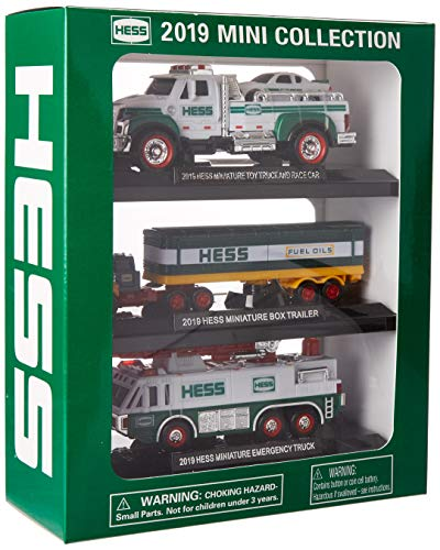 Hess 2019 Mini Truck Collection (Best 1 Year Old Toys 2019)