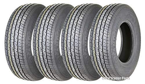 4 New Premium Grand Ride Trailer Tires ST 215/75R14 8PR Load Range D - 11060 ...