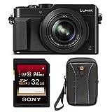 Panasonic LUMIX DMC-LX100K 4K, Point and Shoot Camera with Leica DC Lens (Black Bundle)
