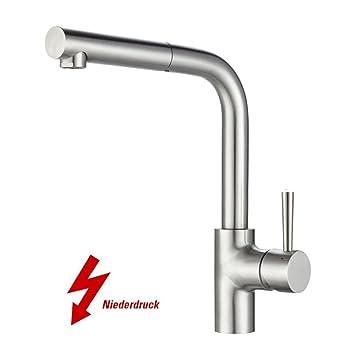 Design Küchenarmatur Waschbecken Spültischarmatur Wasserhahn Einhebel Ausziehbar