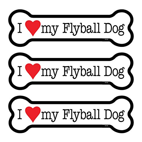 I (heart) my Flyball Dog 3-PACK of 2