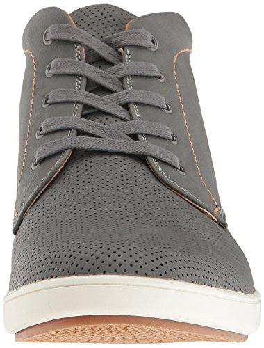 Steve Madden Mens Fractal Fashion Sneaker Grey