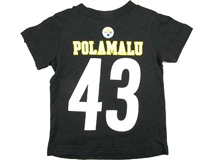 watch f743f 54d28 Amazon.com : Outerstuff Troy Polamalu Pittsburgh Steelers ...