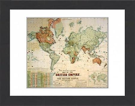 Media storehouse framed 16x12 print of map of the british empire media storehouse framed 16x12 print of map of the british empire 7403809 gumiabroncs Choice Image