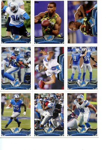 Reviews/Comments Detroit Lions 2013 Topps Complete Hand Collated Regular Issue Card Team Set Including Ndamukong Suh,