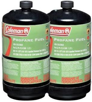 X2 Coleman Propane Cylinder