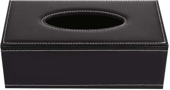 Goodjobb Domestic Paper Towel Box Storage Box Table Desktop Sundries Storage Leather Extravagant One Size 1