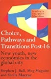 Choice, Pathways and Transitions Post-16: New Youth, New Economies in the Global City (Studies in Inclusive Education Series), Stephen Ball, Sheila Macrae, Meg Maguire, 0750708603