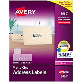 Address Labels Navy HS-6