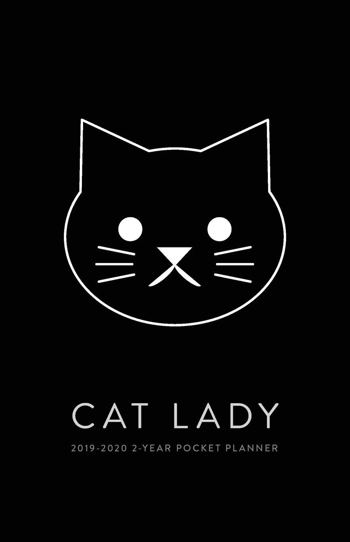Ecu 2020 Calendar 2019 2020 2 Year Pocket Planner; Cat Lady: The Cat Lover's Pocket