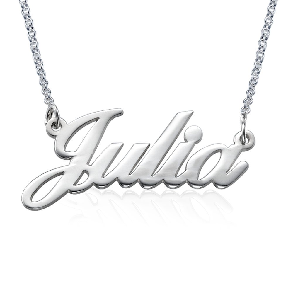 Classic Name Necklace Personalized-Custom Made Pendant Jewelry Gift for Her