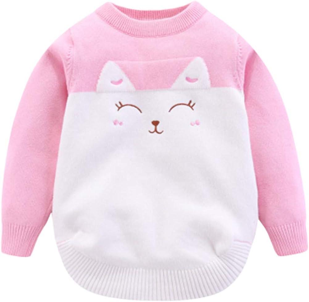 Mud Kingdom Little Boys Girls Sweater Pullover Cute Kitten